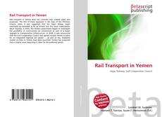Portada del libro de Rail Transport in Yemen