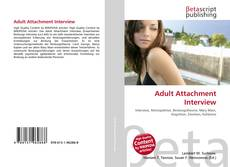 Couverture de Adult Attachment Interview