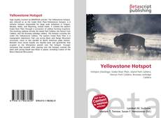 Bookcover of Yellowstone Hotspot
