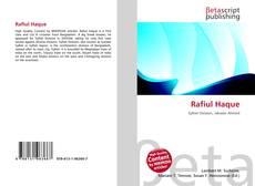 Copertina di Rafiul Haque