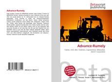 Advance-Rumely的封面