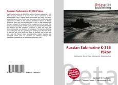 Russian Submarine K-336 Pskov的封面