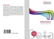 Bookcover of Rafiq Zakaria
