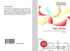 Bookcover of Velo, Greece