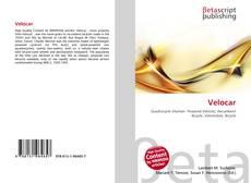 Bookcover of Velocar