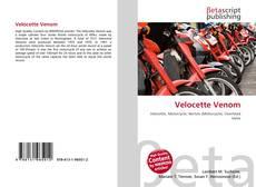 Couverture de Velocette Venom