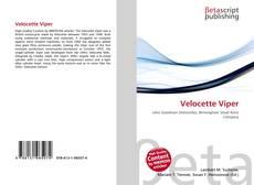 Bookcover of Velocette Viper