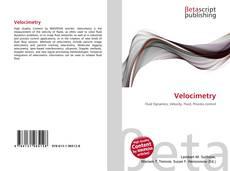 Buchcover von Velocimetry