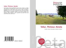 Bookcover of Velur, Thrissur, Kerala