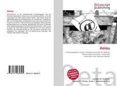 Bookcover of Aeiou