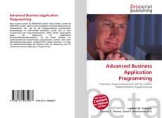 Buchcover von Advanced Business Application Programming