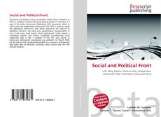 Bookcover of Social and Political Front