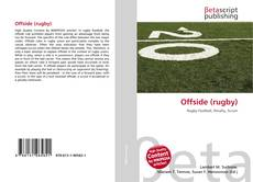 Bookcover of Offside (rugby)