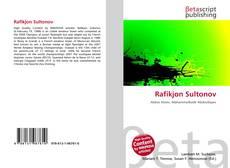 Bookcover of Rafikjon Sultonov