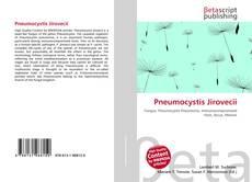 Bookcover of Pneumocystis Jirovecii