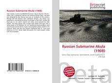 Capa do livro de Russian Submarine Akula (1908)