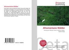 Capa do livro de Afromontane Wälder