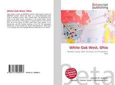 Bookcover of White Oak West, Ohio