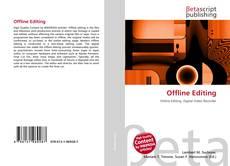 Copertina di Offline Editing
