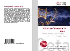 Bookcover of History of the Jews in Qatar