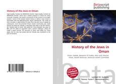 Capa do livro de History of the Jews in Oman