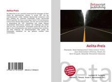 Bookcover of Aelita-Preis