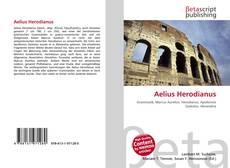 Bookcover of Aelius Herodianus