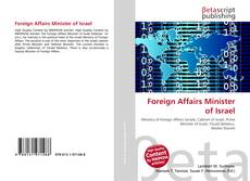 Bookcover of Foreign Affairs Minister of Israel
