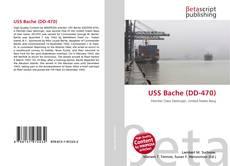 Capa do livro de USS Bache (DD-470)