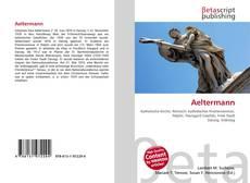 Aeltermann的封面