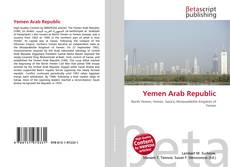 Bookcover of Yemen Arab Republic