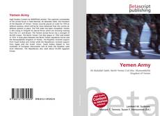 Bookcover of Yemen Army