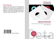 Capa do livro de Advent Records