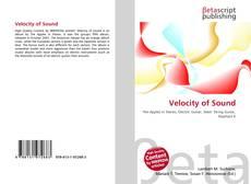 Borítókép a  Velocity of Sound - hoz