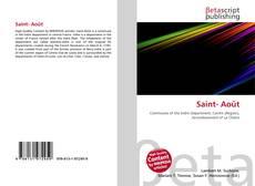 Bookcover of Saint- Août