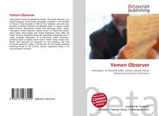 Bookcover of Yemen Observer