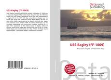 Bookcover of USS Bagley (FF-1069)