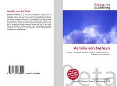 Portada del libro de Aemilia von Sachsen