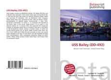 Portada del libro de USS Bailey (DD-492)