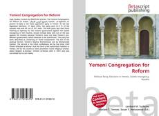 Bookcover of Yemeni Congregation for Reform