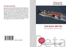 Bookcover of USS Balch (DD-50)