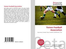 Bookcover of Yemen Football Association
