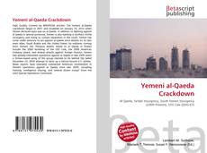 Bookcover of Yemeni al-Qaeda Crackdown