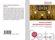 Bookcover of Yemeni Jihadist Rehabilitation Program