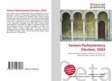Copertina di Yemeni Parliamentary Election, 2003