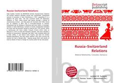 Bookcover of Russia–Switzerland Relations