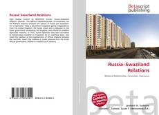 Bookcover of Russia–Swaziland Relations