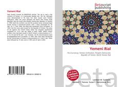 Bookcover of Yemeni Rial