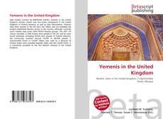Borítókép a  Yemenis in the United Kingdom - hoz
