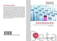 Bookcover of Yemisi Ransome-Kuti